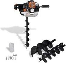 Auger Ground Drill Orange VD03516 - Hommoo