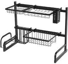 Augienb - 65-95CM Sink Rack Dish Plate Drainer