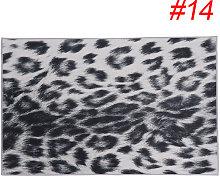 Augienb - Carpet Rug Animal Fur Pattern Living