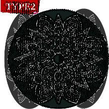 Augienb - Circular Round Rugs Floor Carpets Mats