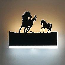 Augrous Wall Light LED 12W Horse Shape Iron