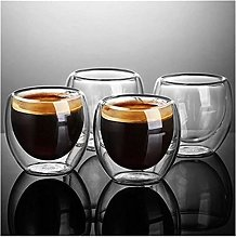 Augus Jacob Double Wall Shot Wine Beer Glass