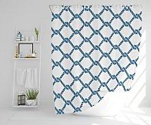 August Polyester Shower Curtain Set Longshore Tides