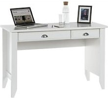 Augusta Home Office Laptop Desk In Soft White