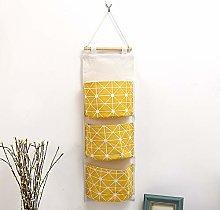 AUHOKY Hanging Storage Bag Wall Hanging Wardrobe