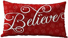 Auied Christmas beautiful Rectangle Cotton Linter