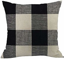 Auied Geometric Patterns Cushion Cover Square