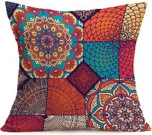 Auied Pillow Case Simple New Bohemian Pattern