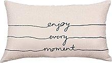 Auied Pillowcase Geometric Lines Pillow Case