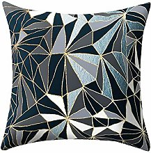 Auied Rose Black Gold Cushion Cover Square