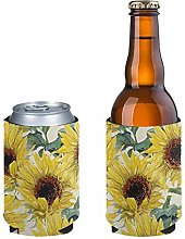 Aulaygo 2 Pcs Standard Can Cooler Oil Painting