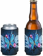 Aulaygo 2pcs Durable Standard Beer Can Sleeves,