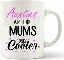 Aunt Auntie Aunty Gift Mug Aunties are Like Mums