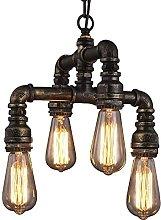 Auoeer 4-Lights Hanging Fixture Ceiling Chandelier