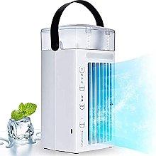 Auoeer Air Conditioner Desk Fan Portable Mini