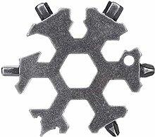 Auoeer Tools Kits Multifunction Snowflake