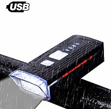 Auplew Bike Light Front Light Touch Front Bike