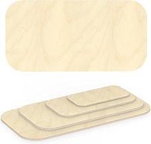 AUPROTEC Plywood Sheet 18mm rectangular 1100 mm x