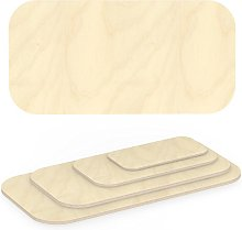 AUPROTEC Plywood Sheet 21mm rectangular 1700 mm x