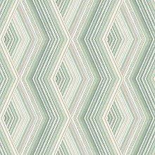 Aura Geometric Wallpaper Metallic Emerald