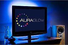 Auraglow Colour Changing 50cm 5v LED Strip USB TV