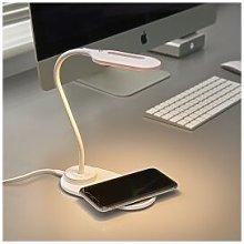Auraglow LED Flexible Neck Desk Lamp with 3 Colour