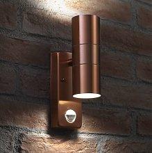 Auraglow PIR Motion Sensor Stainless Steel Up &