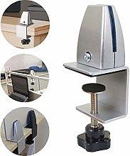 AURALLL Acrylic Sneeze Guard Desk Divider Clamp