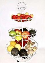 Auroni Fruit and Vegetables Etagere 3 Levels