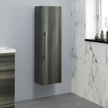 Aurora Charcoal Grey Wall Hung Tall Bathroom