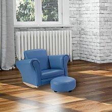 Aurora Children's Chair and Ottoman Isabelle &