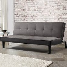 Aurora Grey Fabric Sofa Bed