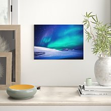 Aurora Northern Lights Iceland Graphic Art East