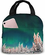 Aurora Portable Lunch Bag Insulated Cooler Bag for