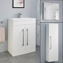 Aurora White Gloss Furniture Bundle - Including