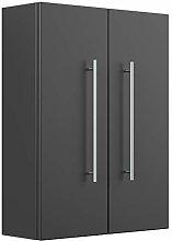 Aurum-L Bathroom Cabinet Black Semi-Gloss