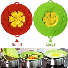 AUSINCERE Spill Stopper Lid Cover,Anti Spill Lid