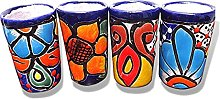 Authentic Mexican Tequila Glasses Talavera Shot