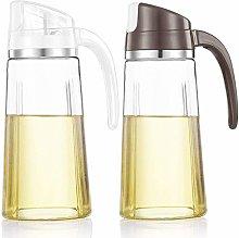 Auto Flip Olive Oil Dispenser Bottle,20 OZ