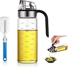 Auto Flip Olive Oil Glass Bottle,Oil