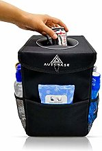 Autobase Car Trash Bag Storage Organizer and