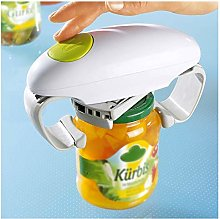 for Seniors /& People Suffering From Arthritis One Touch Automatic Jar Opener SCARVT Electric Can Opener Adjustable Easy Can Tin Open Tool