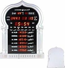 Automatic Muslim Prayer Azan Clock, Islamic Mosque