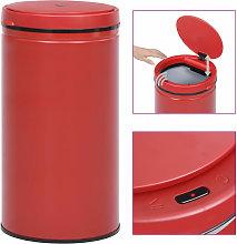 Automatic Sensor Dustbin 60 L Carbon Steel Red