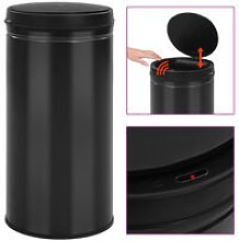 Automatic Sensor Dustbin 70 L Carbon Steel Black
