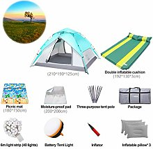 Automatic Tent 4 Man - Beach Tent Camping Set with