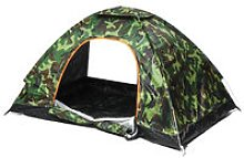 Automatic Tents 180x120x100cm Camouflage Double