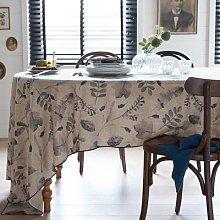 Automne Linen / Washed Cotton Tablecloth by La