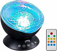 AUTUDER Projection Night Light Remote Control