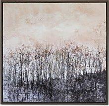 Autumn Forest - Framed Canvas Print, 85 x 85cm,